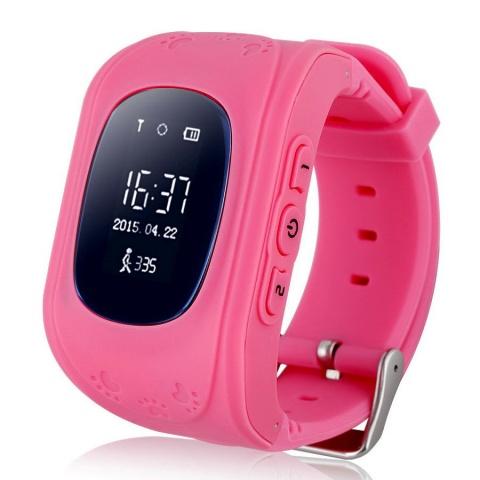 Детские GPS часы Nuobi Q50 (Розовый)