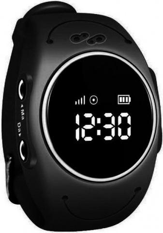 Детские GPS часы Nuobi Q520S (Черный) детские часы с gps wonlex gw700s красные