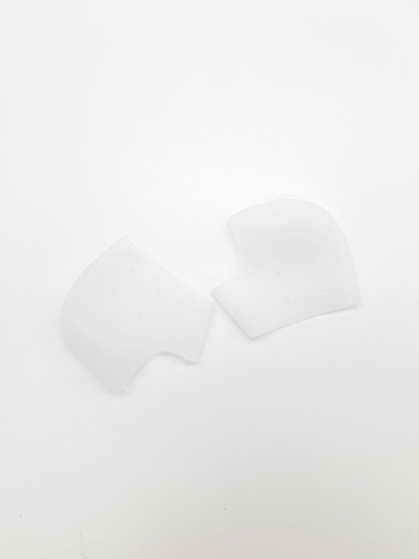 Дышащие силиконовые носочки уход за кожей пяток