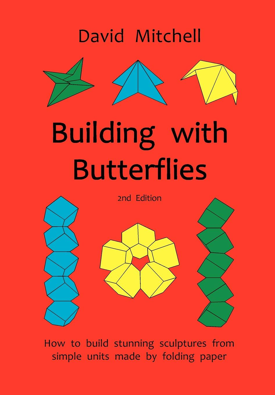 David Mitchell Building with Butterflies press out and colour butterflies