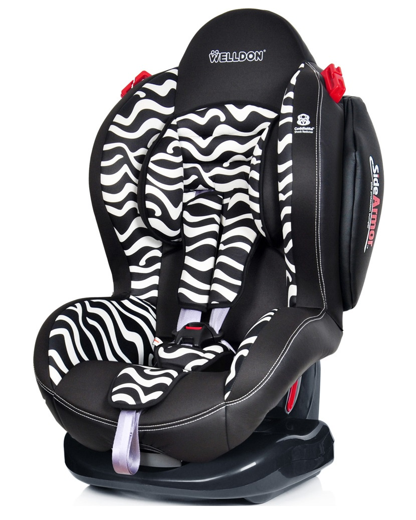 Автокресло Welldon Smart Sport (Zebra) автокресло welldon royal baby side armor