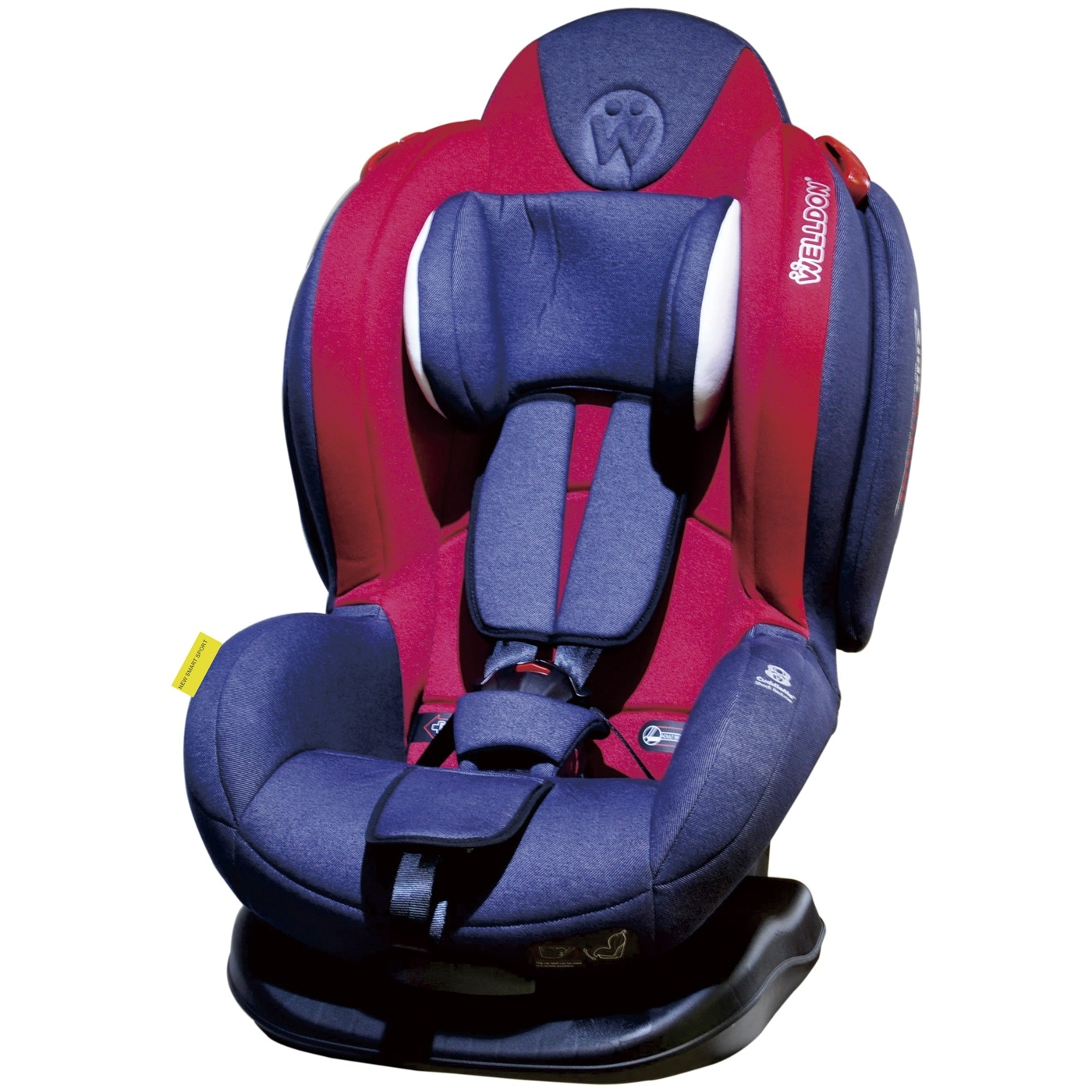 Автокресло Welldon Smart Sport (Jean) автокресло welldon royal baby side armor