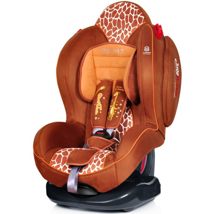 Автокресло Welldon Smart Sport (Giraffe Talk) автокресло welldon royal baby side armor