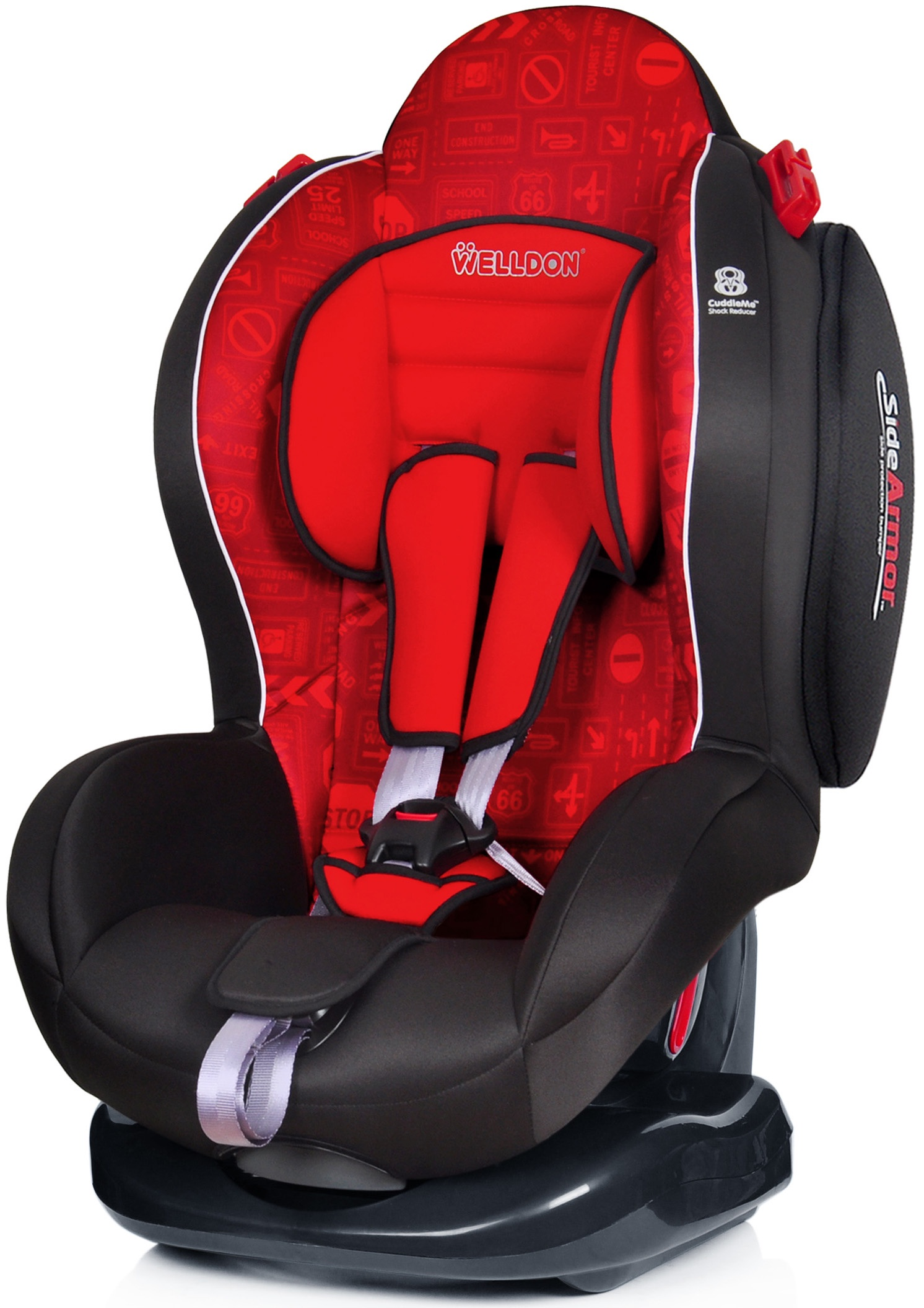 Автокресло Welldon Smart Sport (Traffic Sign) автокресло welldon royal baby side armor
