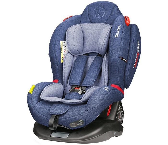 Автокресло Welldon Royal Baby Dual Fit (Blue) автокресло welldon royal baby side armor