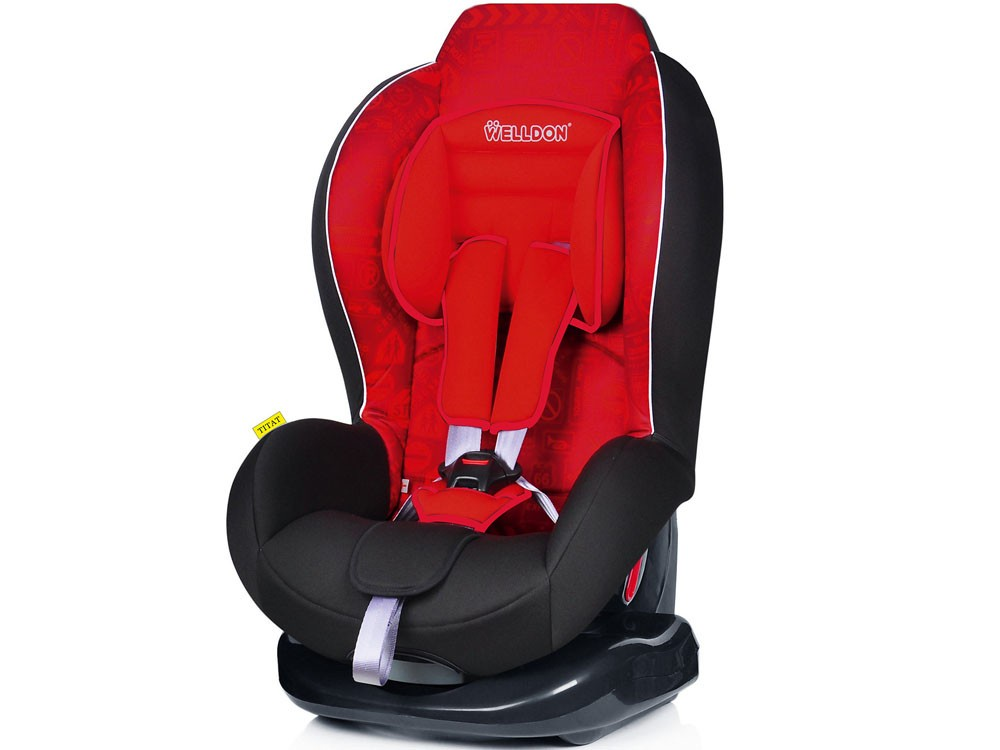 Автокресло Welldon Titat (Traffic Red) автокресло welldon royal baby side armor