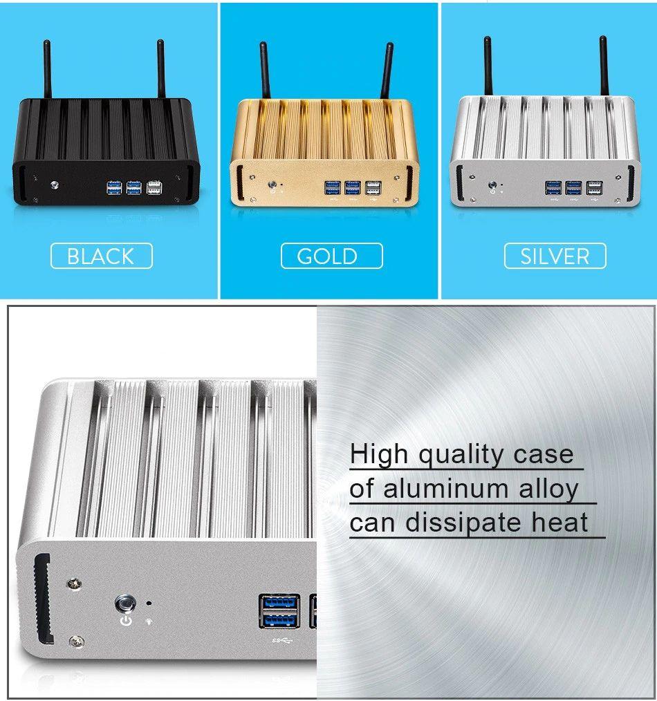 Мини-ПК Nuobi X31, Intel Core i5-4200Y, 4K HDMI (под сборку) NUOBI