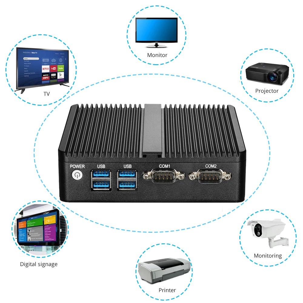 Мини-ПК Nuobi X30A, Intel Celeron J1900, 4K HDMI (под сборку) NUOBI