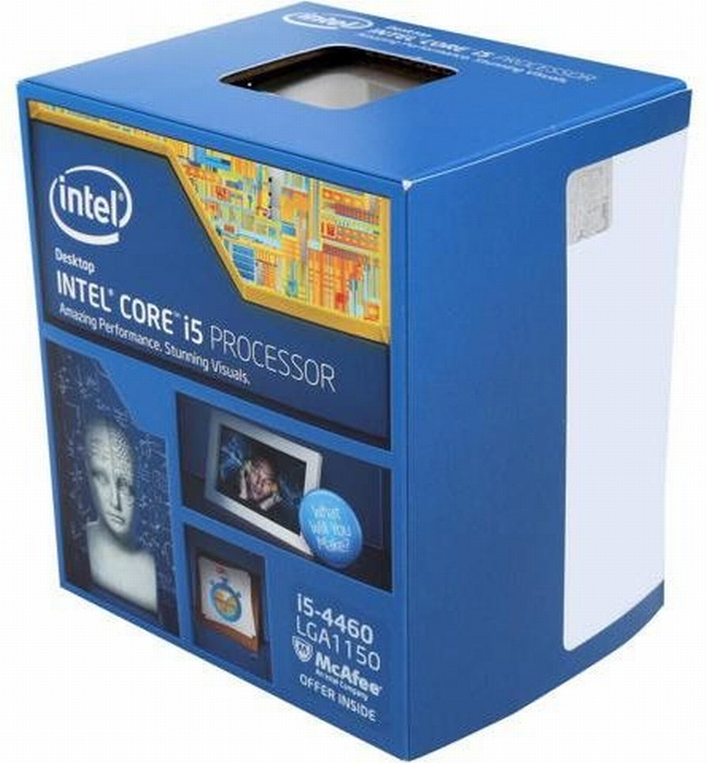 Процессор CPU Intel Core i5-4460 box цена