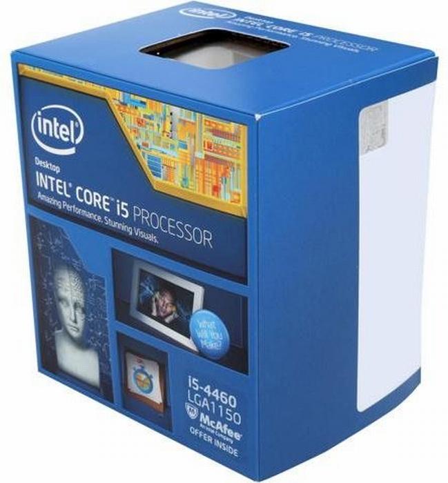 Процессор CPU Intel Core i5-4460 box intel core i5 2540m sr044 cpu 3m 2 6ghz socket g2 pga988 dual core laptop processor i5 2540m for hm65 hm67 qm67 hm76