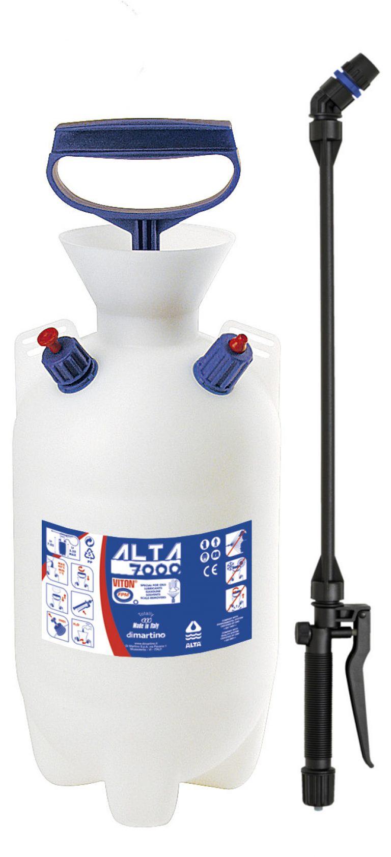 Распылитель кислот, масел и других агрессивных жидкостей Di Martino Alta 7000 Viton 7л