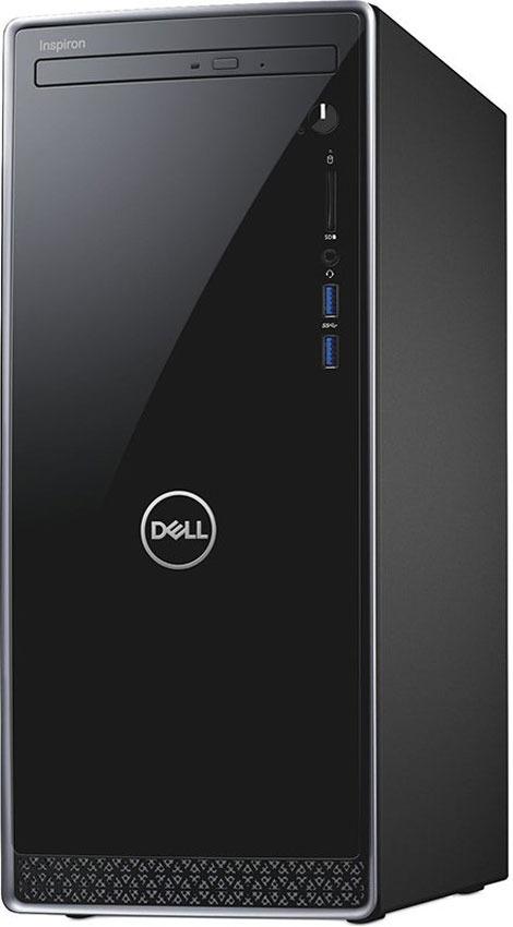 Системный блок Dell Inspiron 3670 MT, 3670-6178, черный