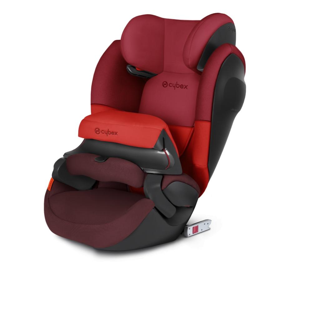 Автокресло Cybex Pallas M-Fix SL (Rumba Red) упорная стойка для автокресла casualplay beat fix и q retractor