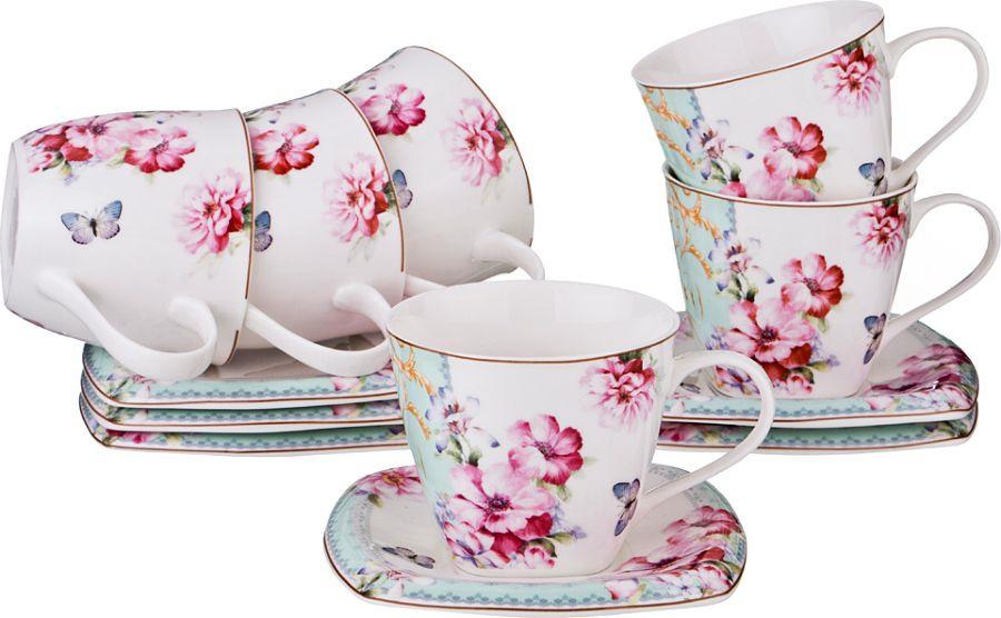 """Набор чайный Lefard """"Полевые цветы"""" на 6 персон, LF-165/421, 220 мл"""