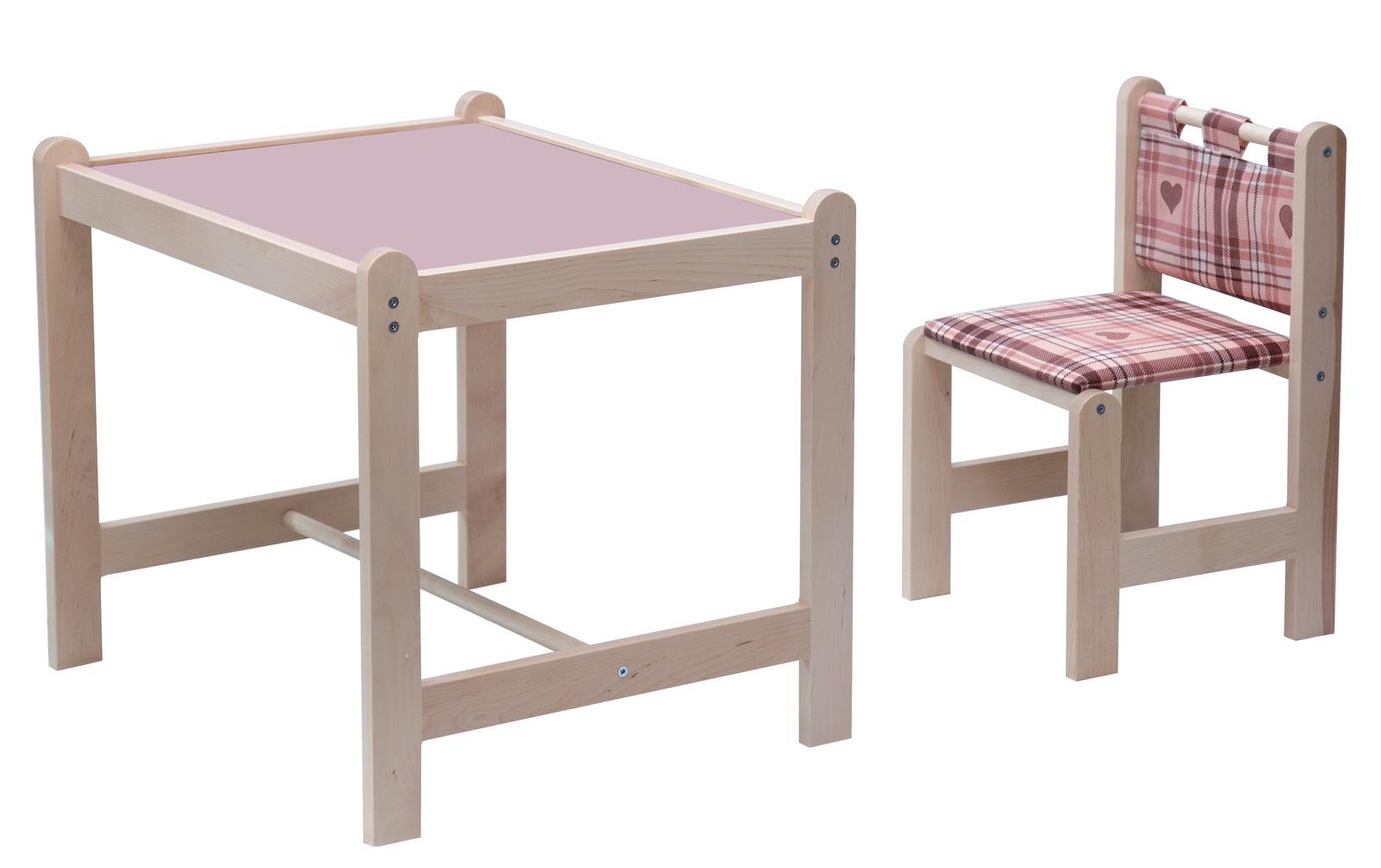 Детская мебель Каспер розовый набор