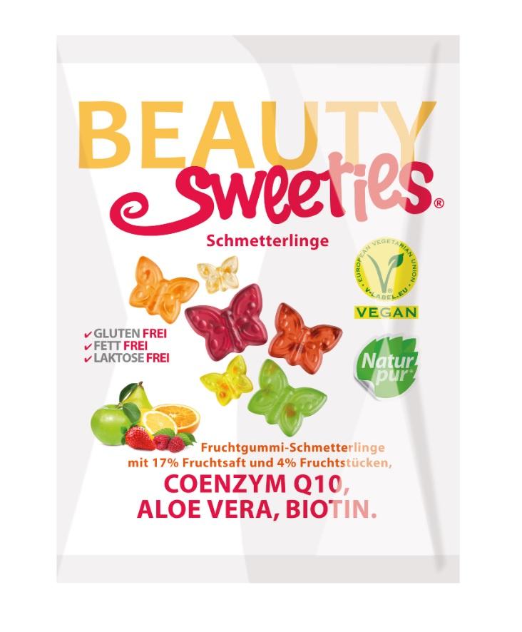 "Жевательный мармелад BeautySweeties ""Butterflies"" (""Бабочки""), ассорти из 6 вкусов, 125 г"