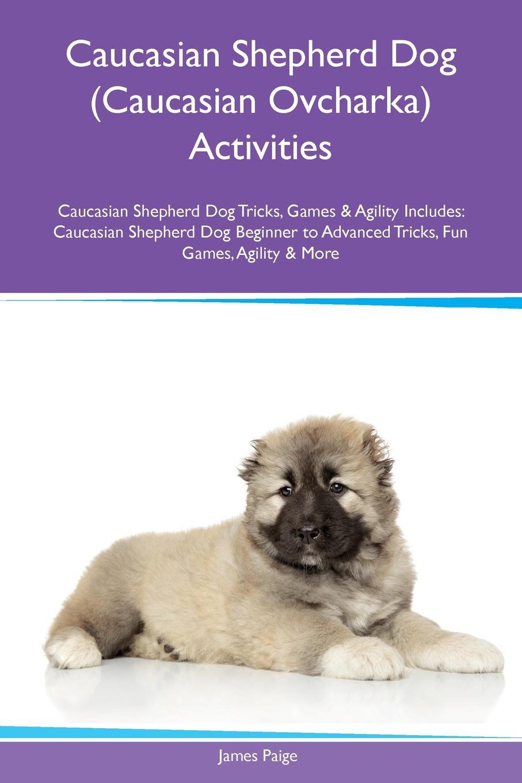 James Paige Caucasian Shepherd Dog (Caucasian Ovcharka) Activities Tricks, Games & Agility Includes. Beginner to Advanced Fun Games, More