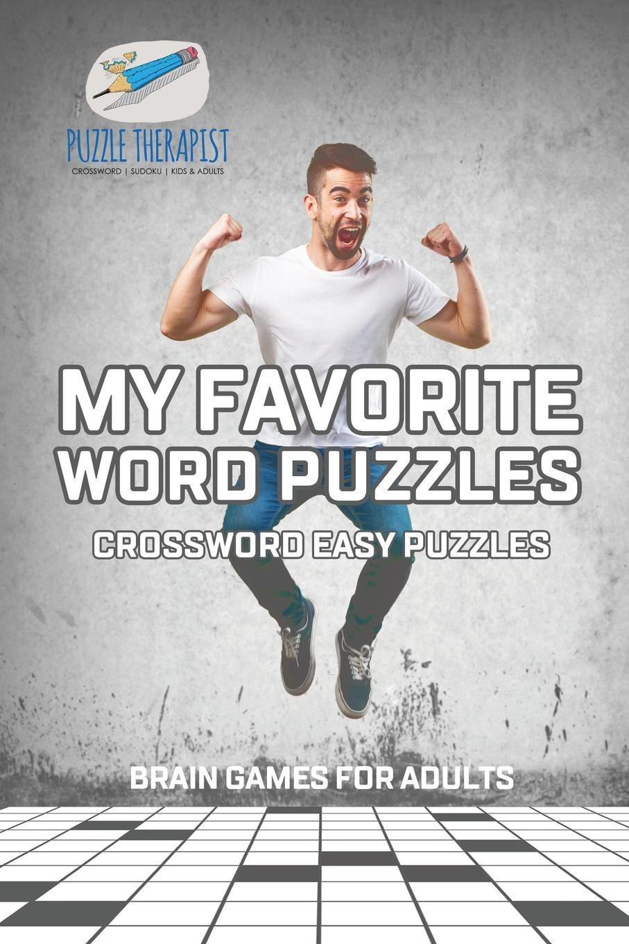 Puzzle Therapist My Favorite Word Puzzles . Crossword Easy Puzzles . Brain Games for Adults паззл vintage puzzles