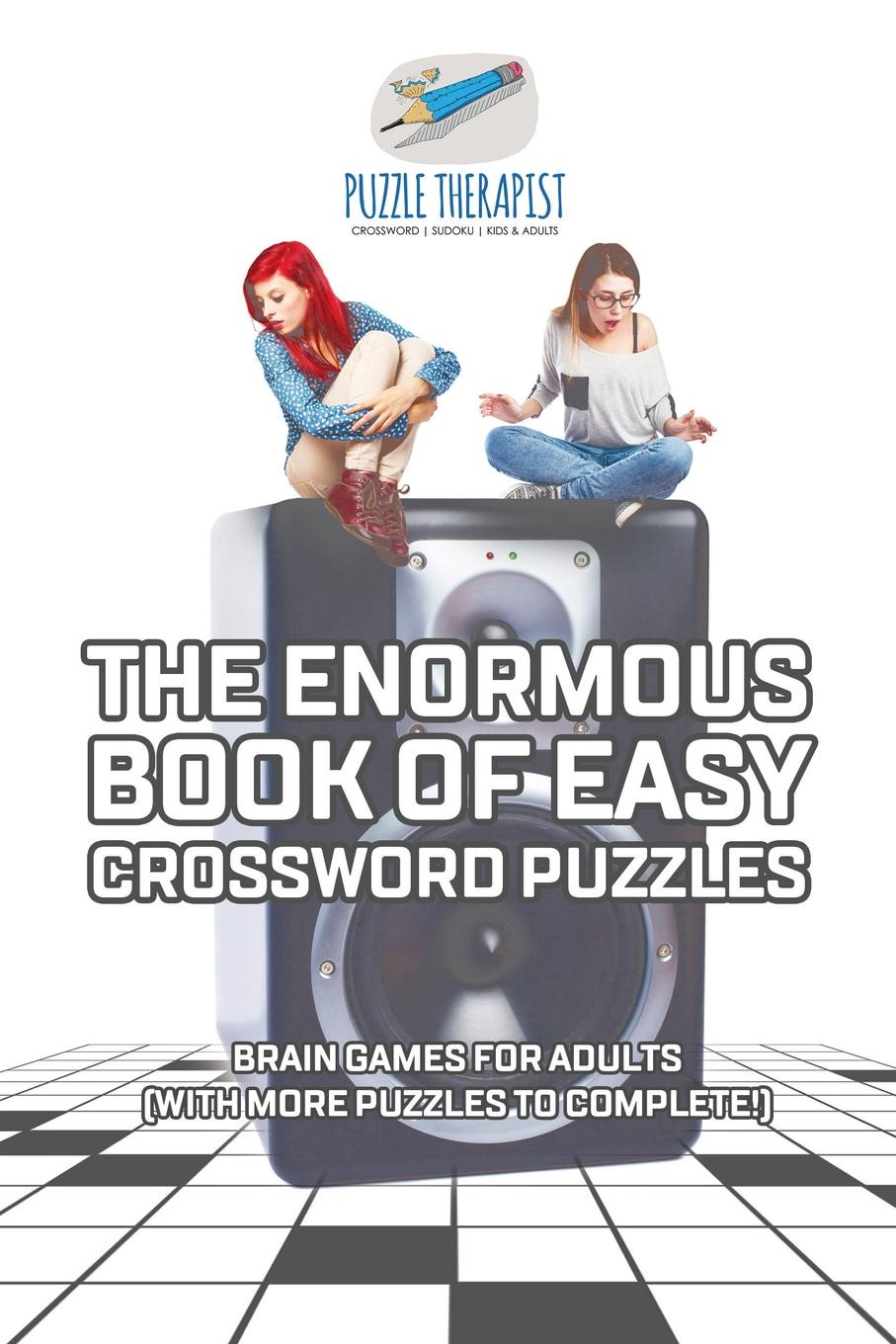 Puzzle Therapist The Enormous Book of Easy Crossword Puzzles . Brain Games for Adults (with more puzzles to complete!) the canterbury puzzles