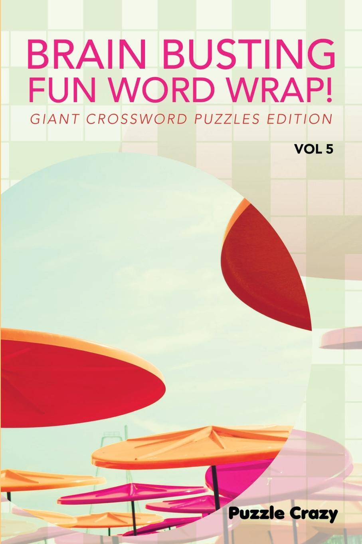 Puzzle Crazy Brain Busting Fun Word Wrap! Vol 5. Giant Crossword Puzzles Edition fandom media fun and easy korean vocabulary crossword puzzles