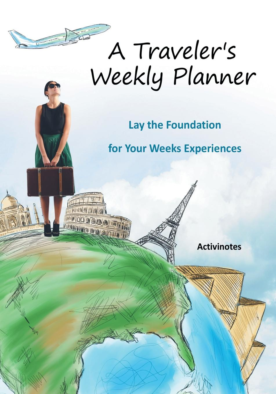 Activinotes A Traveler's Weekly Planner. Lay the Foundation for Your Weeks Experiences week planner wall decal