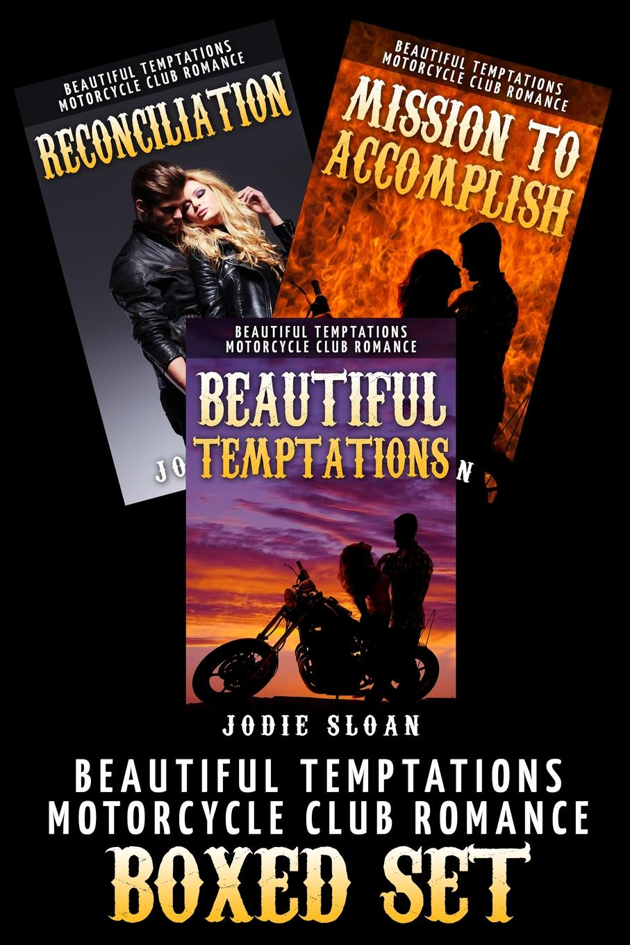 Jodie Sloan Beautiful Temptations (Motorcycle Club Romance Trilogy Box Set) silver heart hollow out necklace set