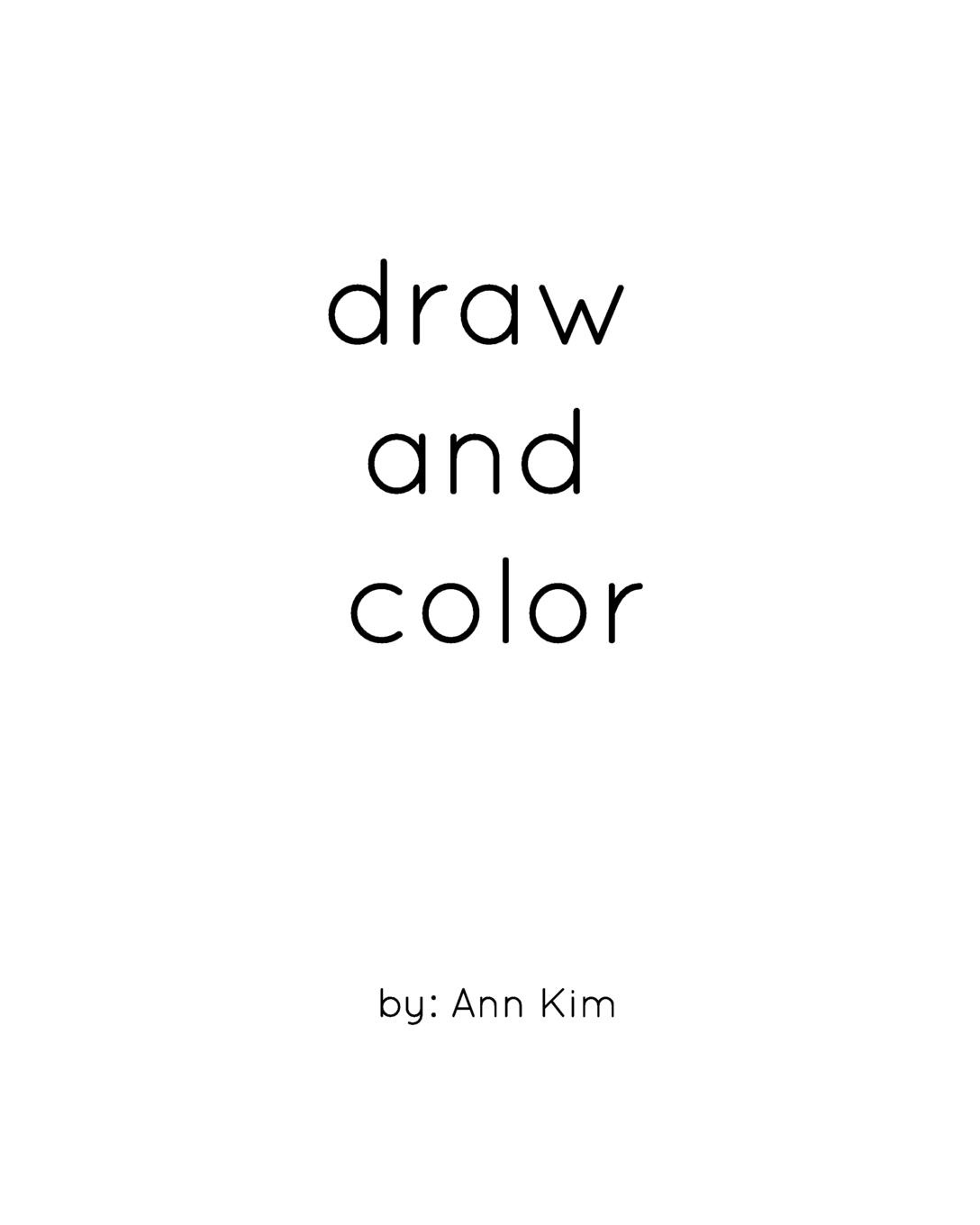 Ann Kim draw and color printio draw more red