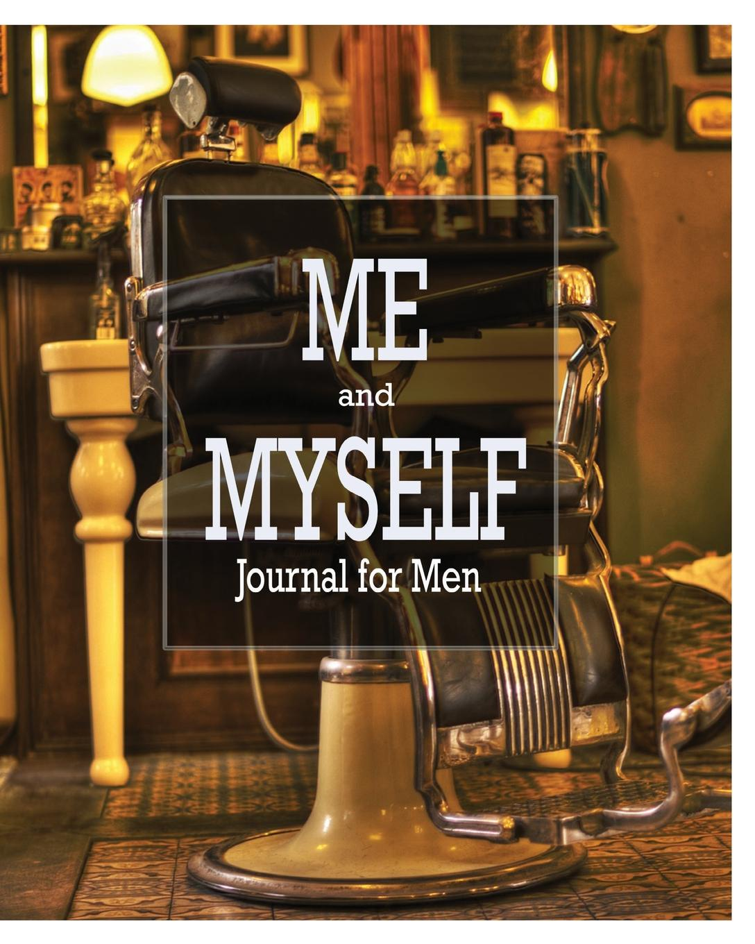 Peter James Me and Myself Journal. Journal for Men