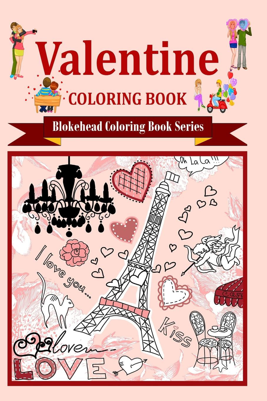 The Blokehead Valentine Coloring Book valentine s day rose confession present led night light