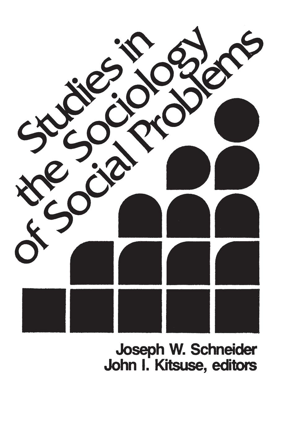 Joseph Schneider Studies in the Sociology of Social Problems charles manski identification problems in the social sciences paper