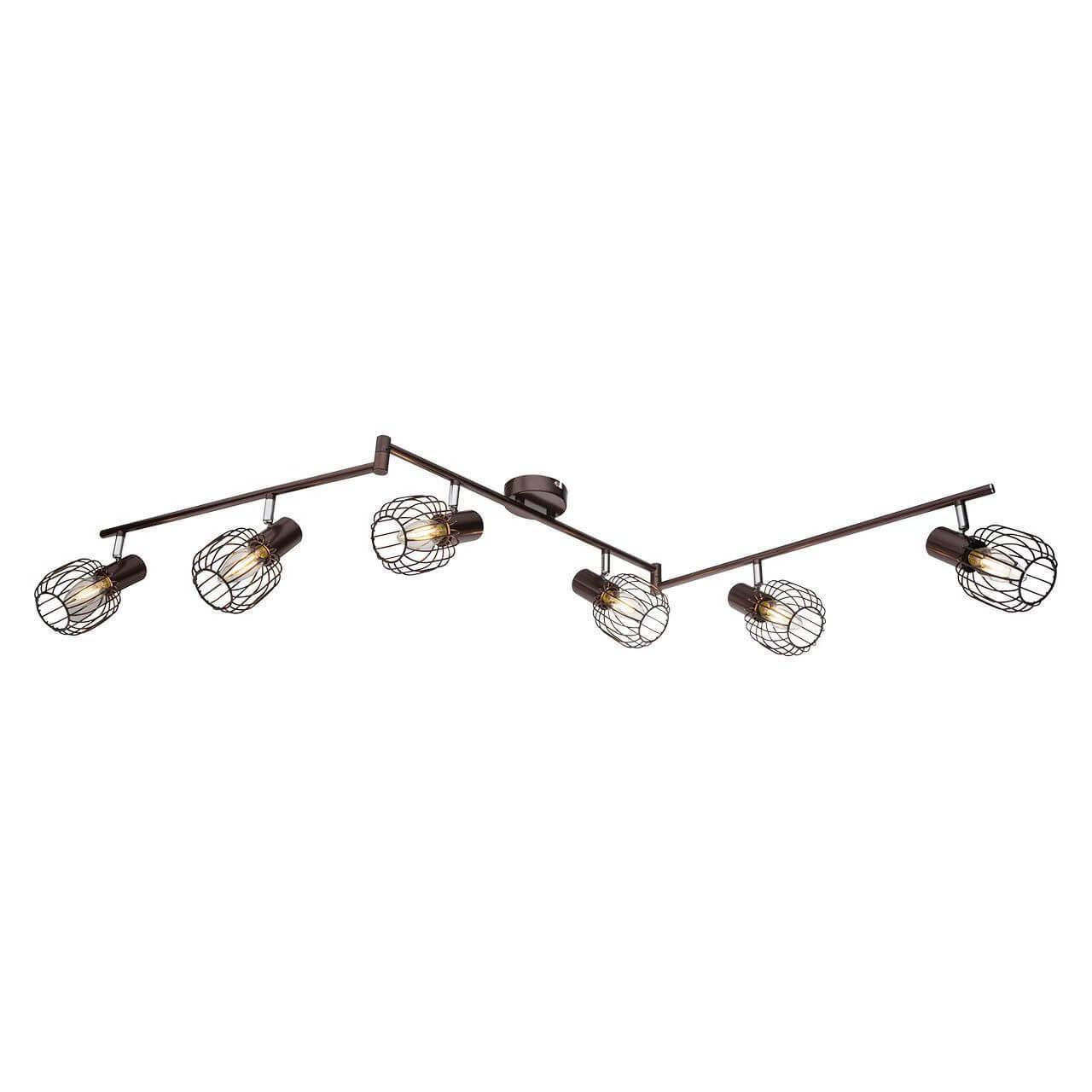 Трековый светильник Globo 54801-6, E14, 40 Вт globo 54711w