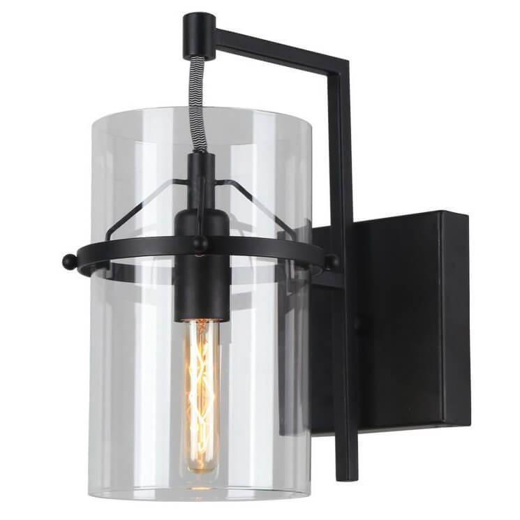 Бра Arte Lamp A8586AP-1BK, E14, 40 Вт