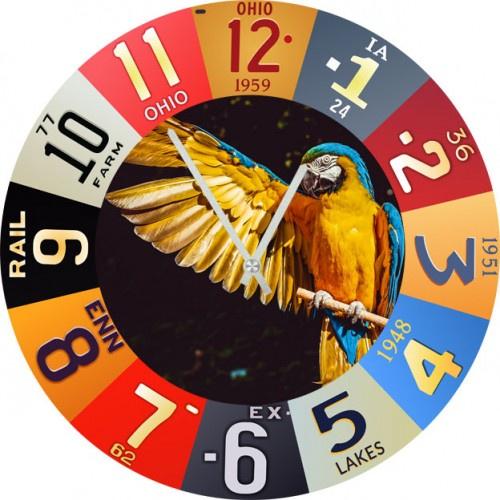 Настенные часы Kitch Clock 4502936