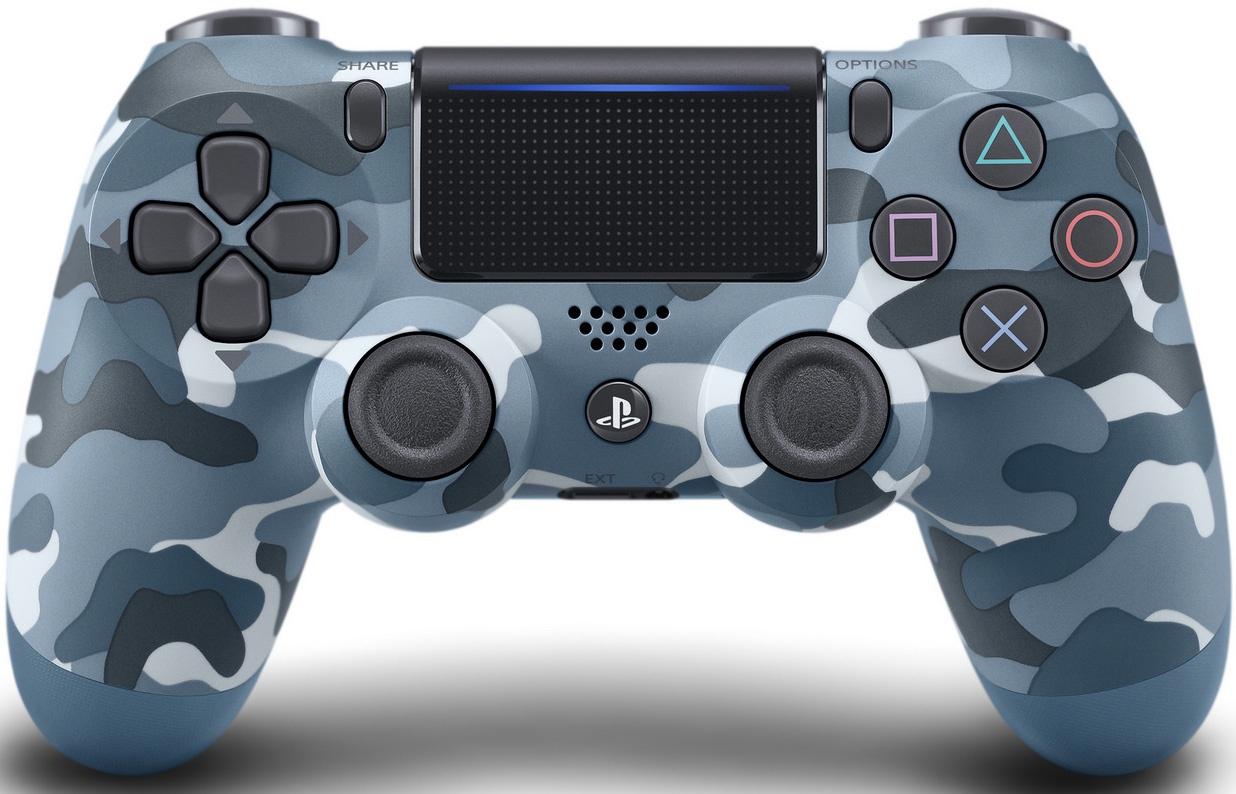 все цены на Геймпад Sony DualShock 4 Ver.2 (синий камуфляж) онлайн