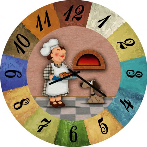 Настенные часы Kitch Clock 5502677