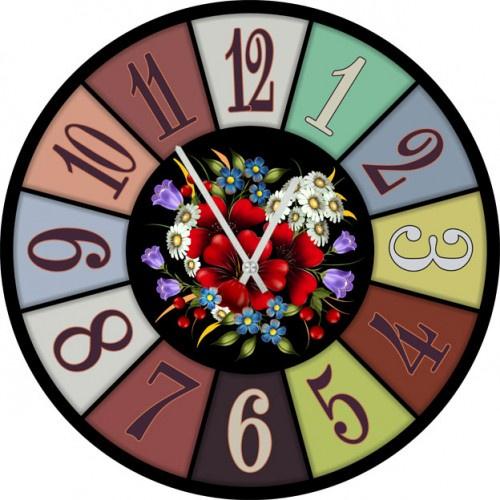 Настенные часы Kitch Clock 6002773