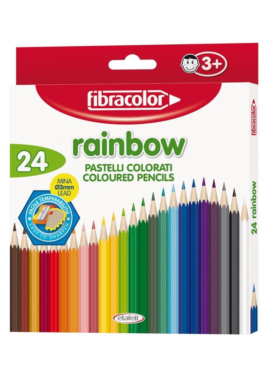 Набор цветных карандашей 24 шт. цены