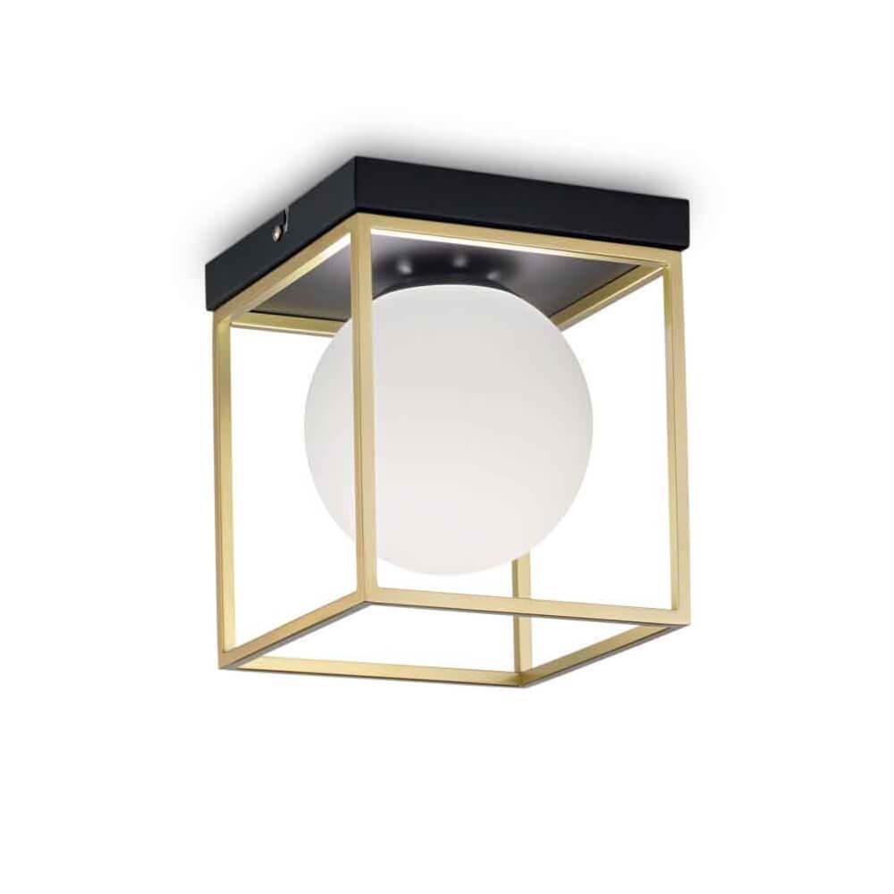 лучшая цена Потолочный светильник Ideal Lux Lingotto PL1, E14, 40 Вт