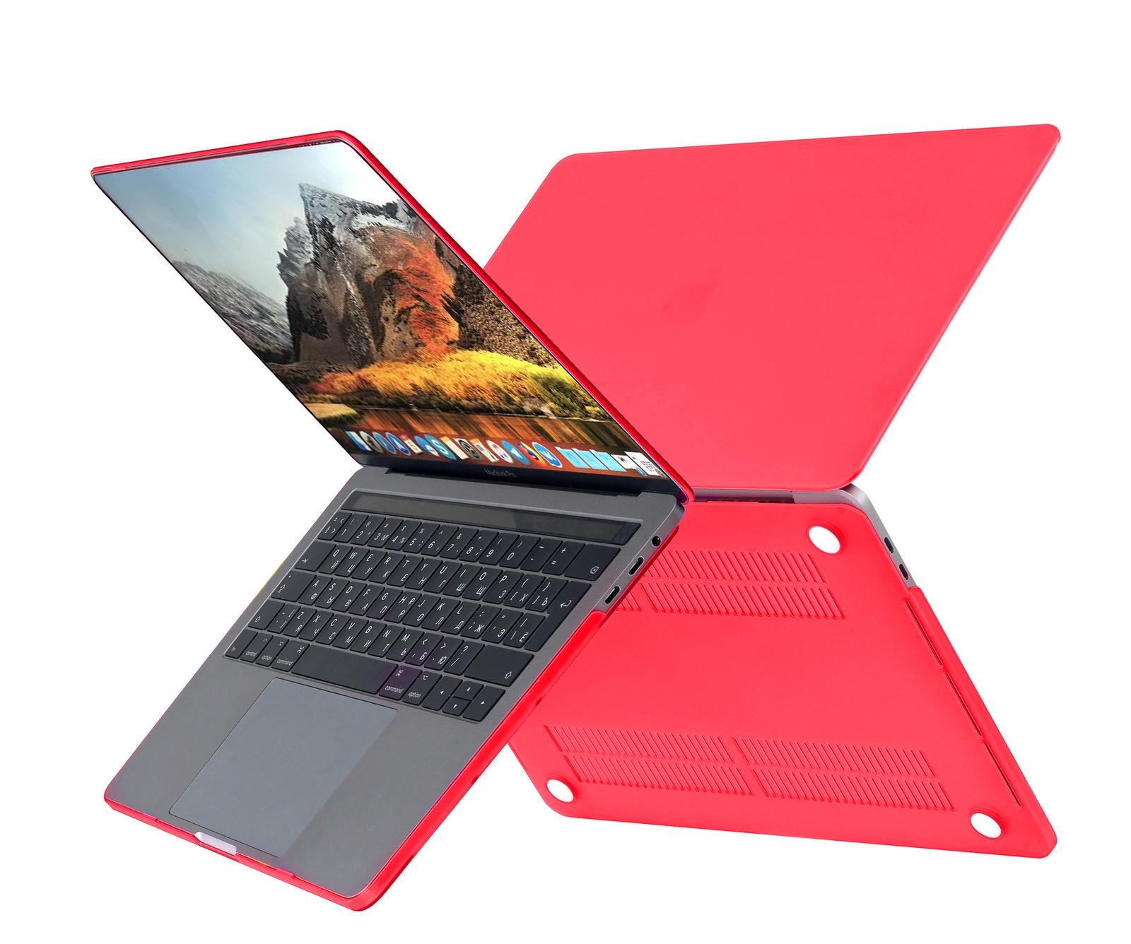 цена на Чехол HardShell Case для Macbook Pro 15 Retina, красный