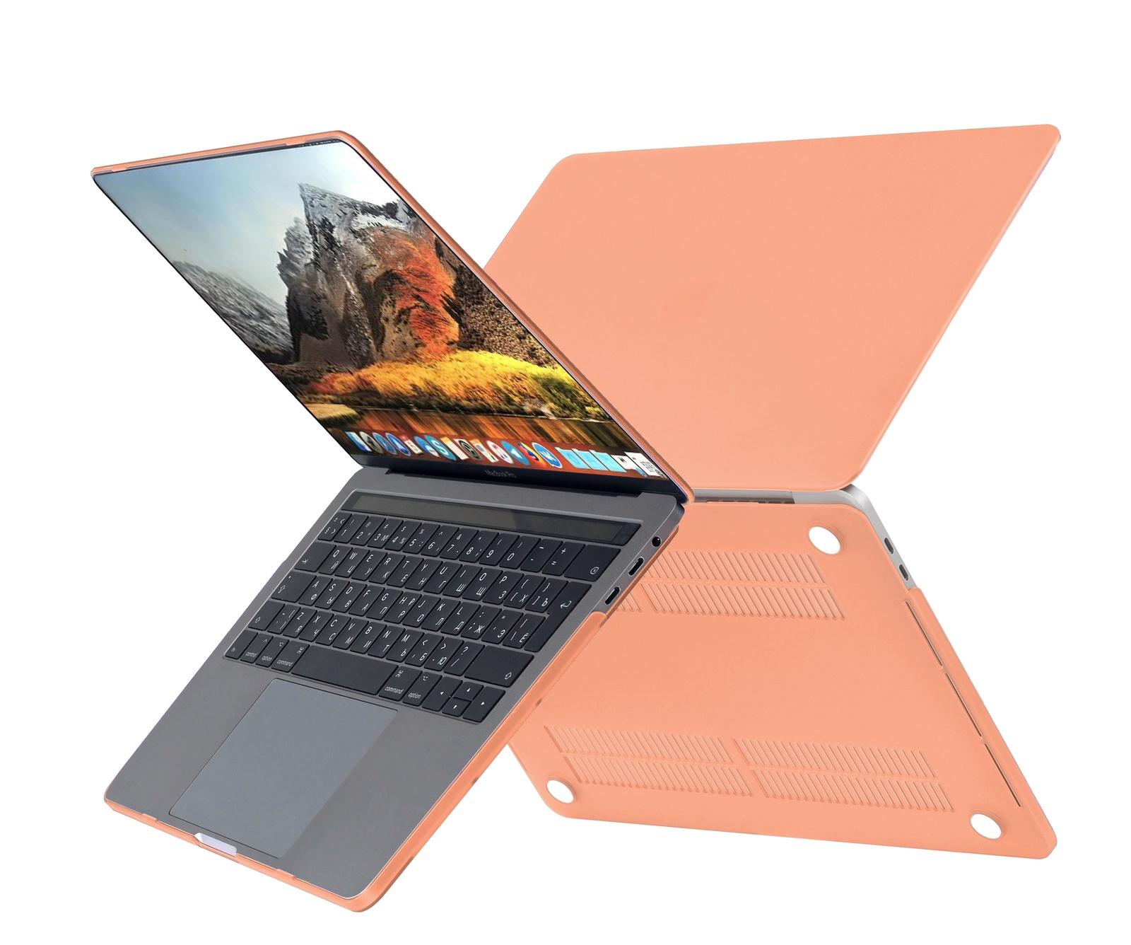 Чехол HardShell Case для Macbook Air 11, коралловый office для macbook air