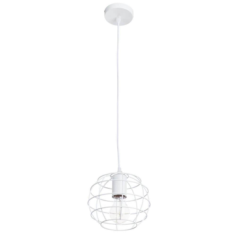 цены Подвесной светильник Arte Lamp A1110SP-1WH, E27, 60 Вт