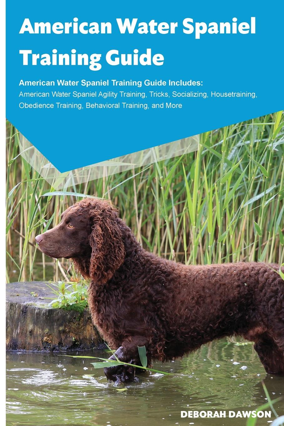 Deborah Dawson American Water Spaniel Training Guide American Water Spaniel Training Guide Includes. American Water Spaniel Agility Training, Tricks, Socializing, Housetraining, Obedience Training, Behavioral Training, and More цены