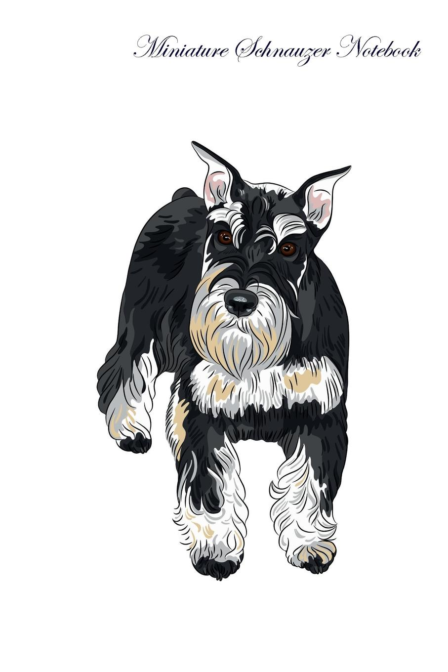 Pet Care Inc. Miniature Schnauzer Notebook Record Journal, Diary, Special Memories, To Do List, Academic Notepad, and Much More pet care inc pembroke welsh corgi notebook record journal diary special memories to do list academic notepad and much more