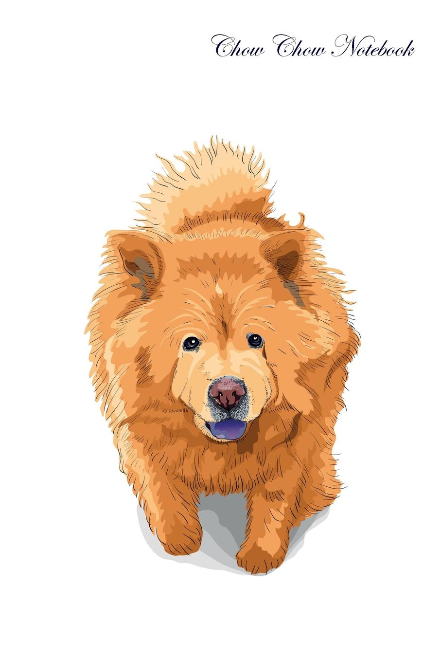 Pet Care Inc. Chow Chow Notebook Record Journal, Diary, Special Memories, To Do List, Academic Notepad, and Much More pet care inc pembroke welsh corgi notebook record journal diary special memories to do list academic notepad and much more
