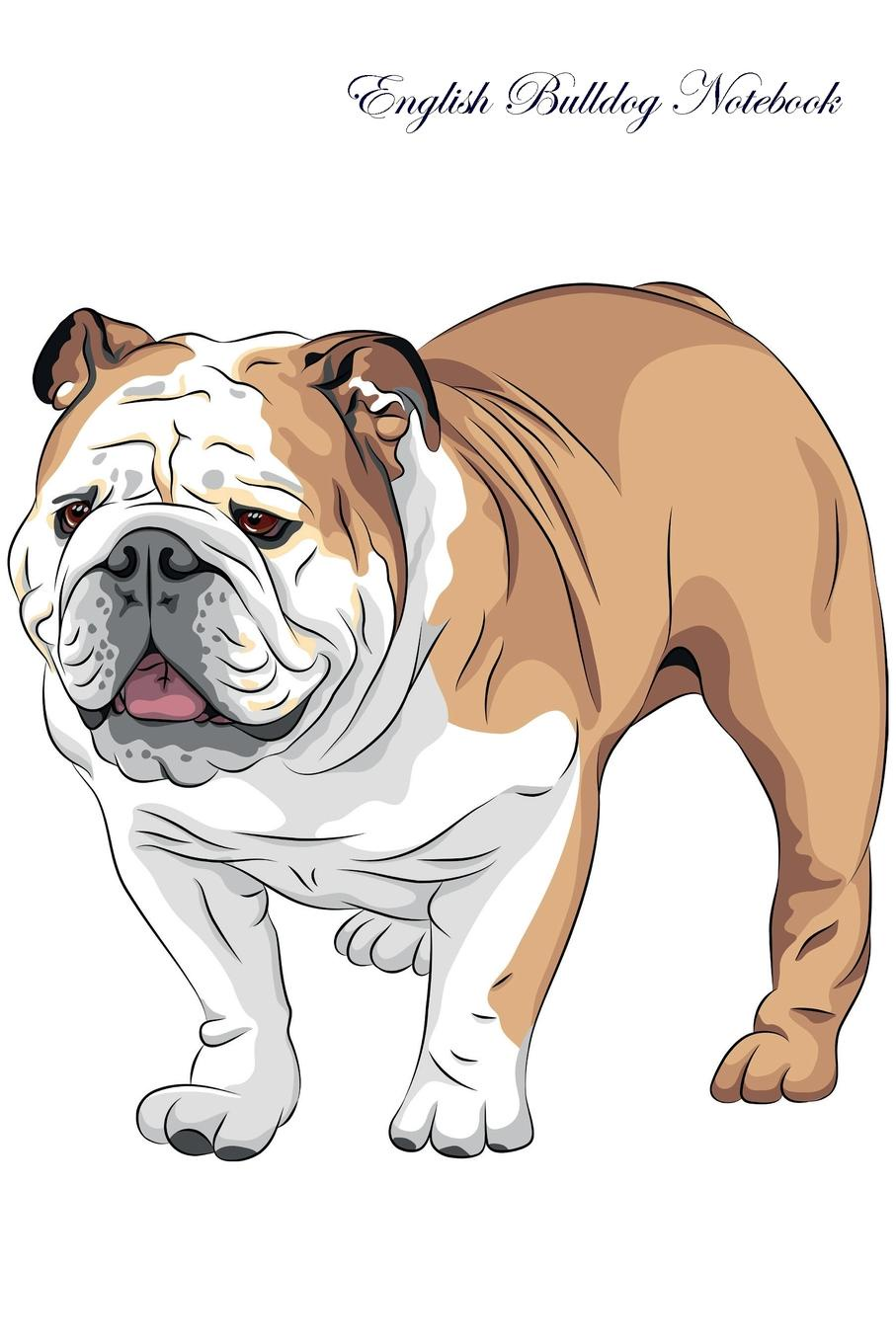 Pet Care Inc. English Bulldog Notebook Record Journal, Diary, Special Memories, To Do List, Academic Notepad, and Much More pet care inc pembroke welsh corgi notebook record journal diary special memories to do list academic notepad and much more