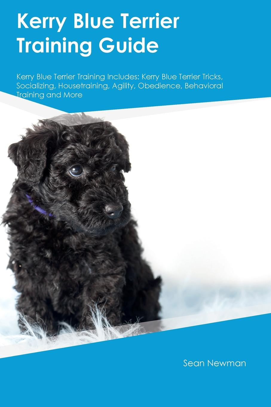 Sean Newman Kerry Blue Terrier Training Guide Includes. Tricks, Socializing, Housetraining, Agility, Obedience, Behavioral and More