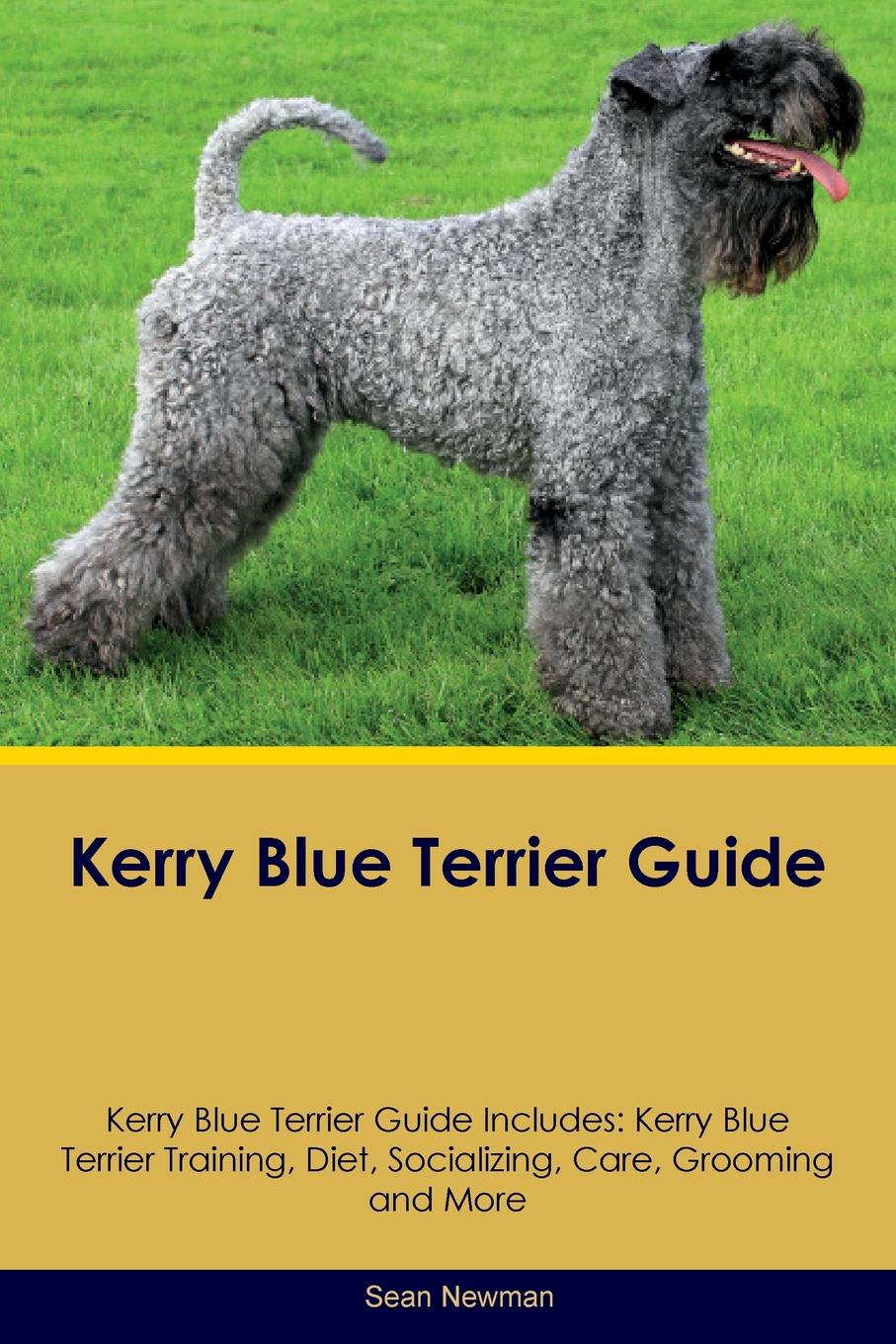 Sean Newman Kerry Blue Terrier Guide Includes. Training, Diet, Socializing, Care, Grooming, Breeding and More