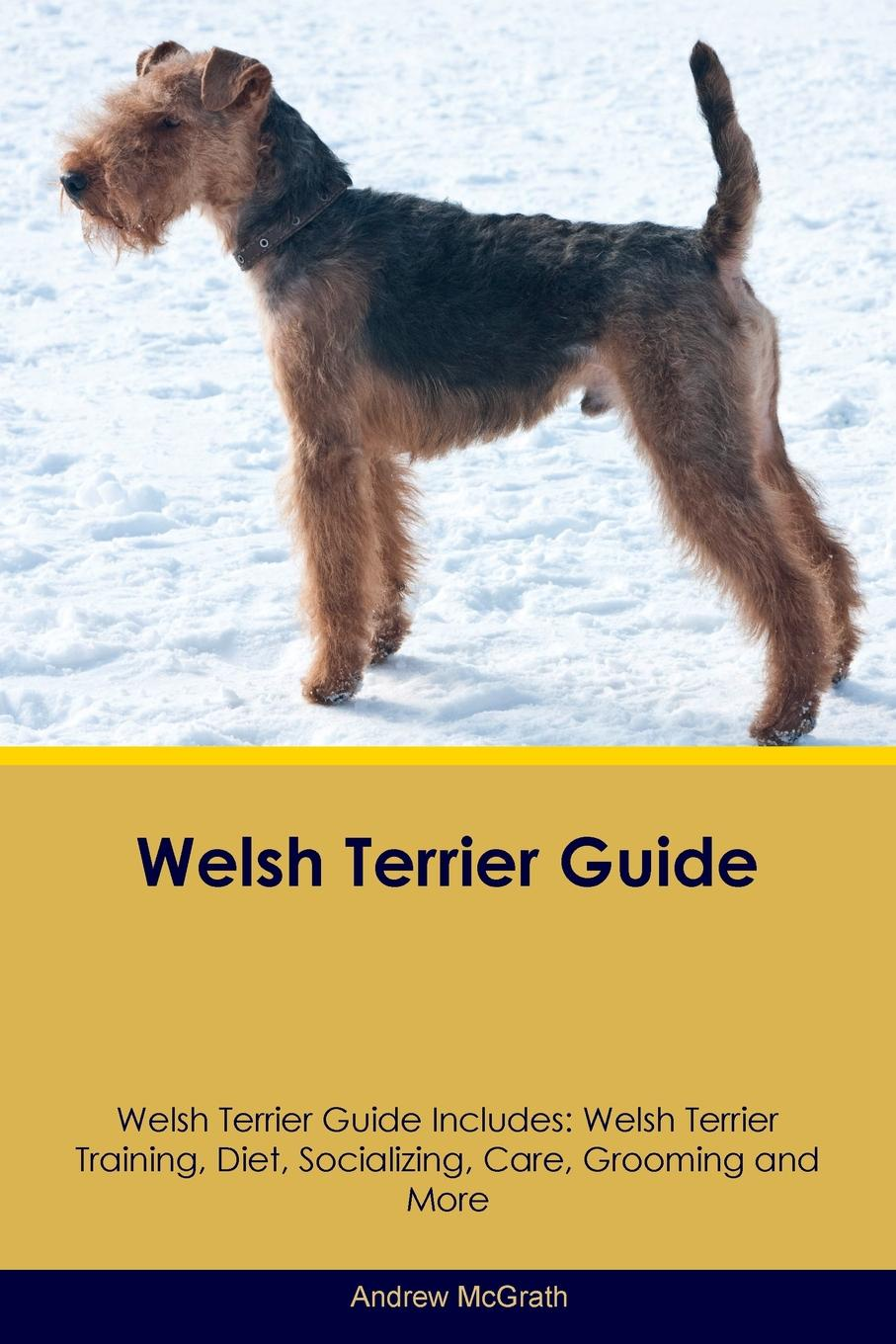 Andrew McGrath Welsh Terrier Guide Welsh Terrier Guide Includes. Welsh Terrier Training, Diet, Socializing, Care, Grooming, Breeding and More t jones a guide to welsh part i