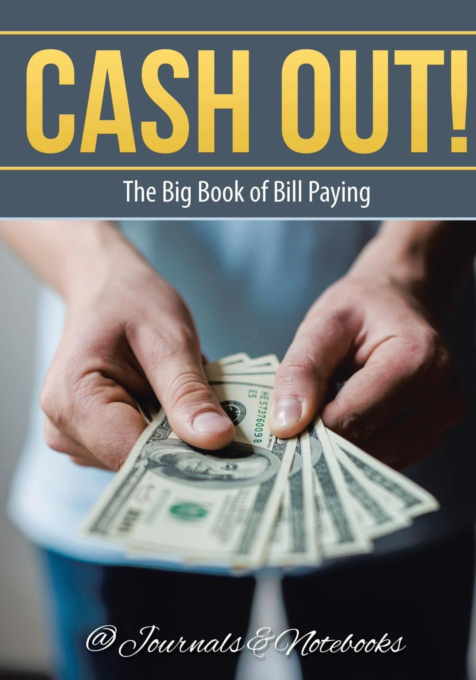 Фото - @Journals Notebooks Cash Out! The Big Book of Bill Paying active cut out elastic vest in navy