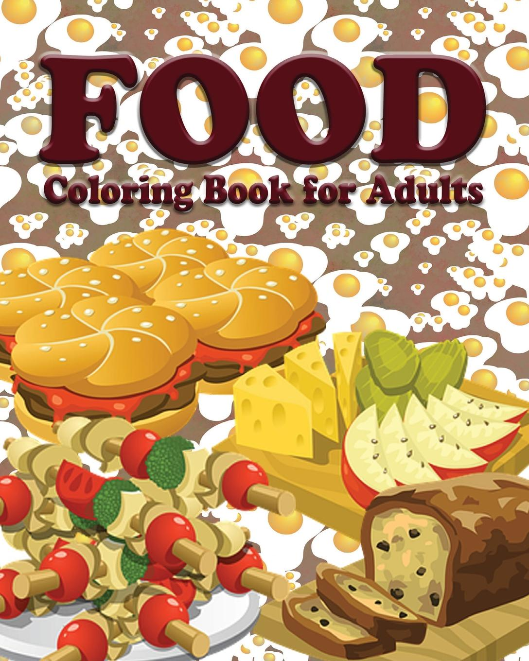 Jason Potash Food Coloring Book for Adults